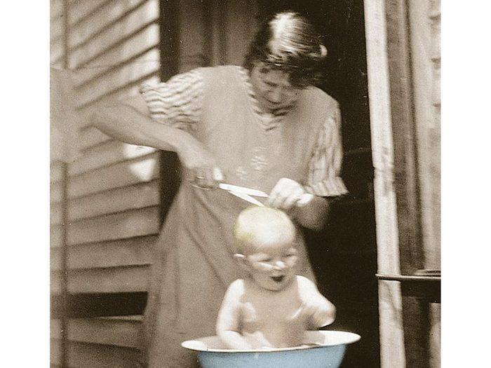 Hygiène: une mère polyvalente.