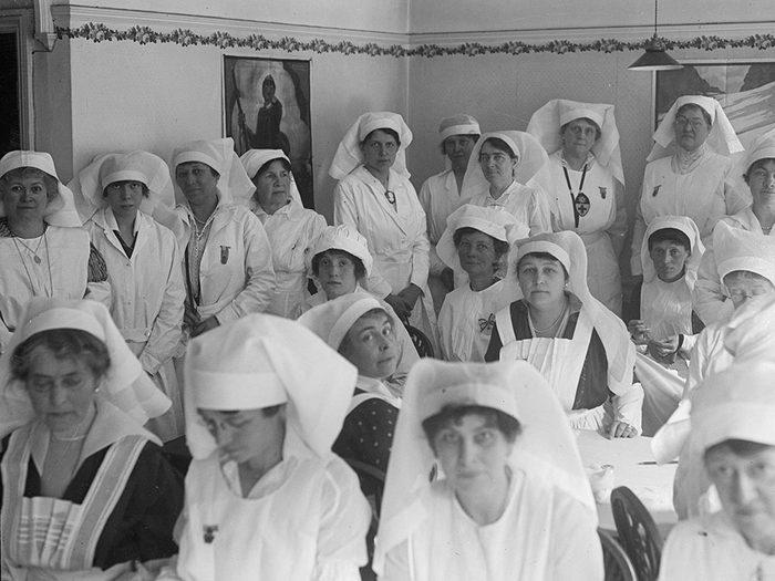 Les infirmières sauvent des vies, hier comme aujourd'hui.