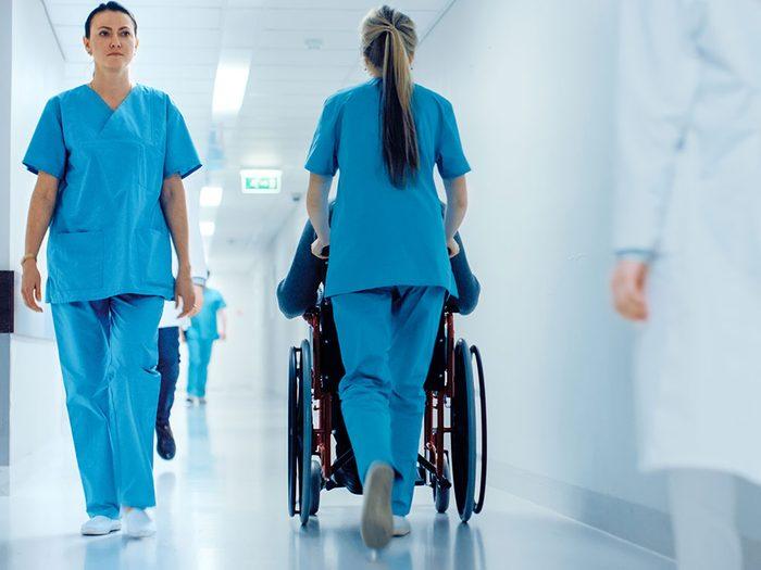 En 2022, la Canada manquera d'infirmières.