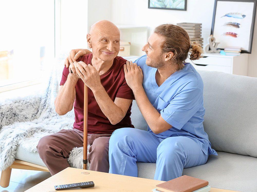 Un segment croissant de la profession infirmière se rend désormais à domicile.