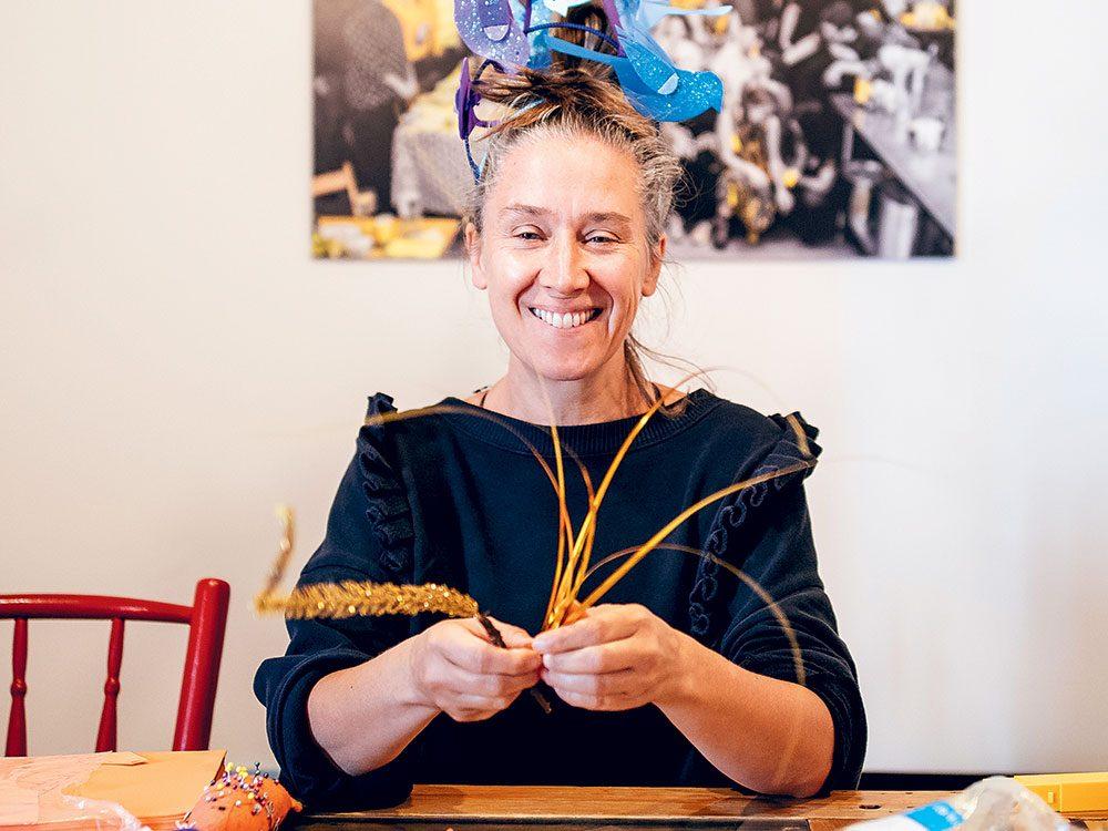 Patsy Van Roost lutte contre l'isolement dans le quartier du Mile-End à Montréal.