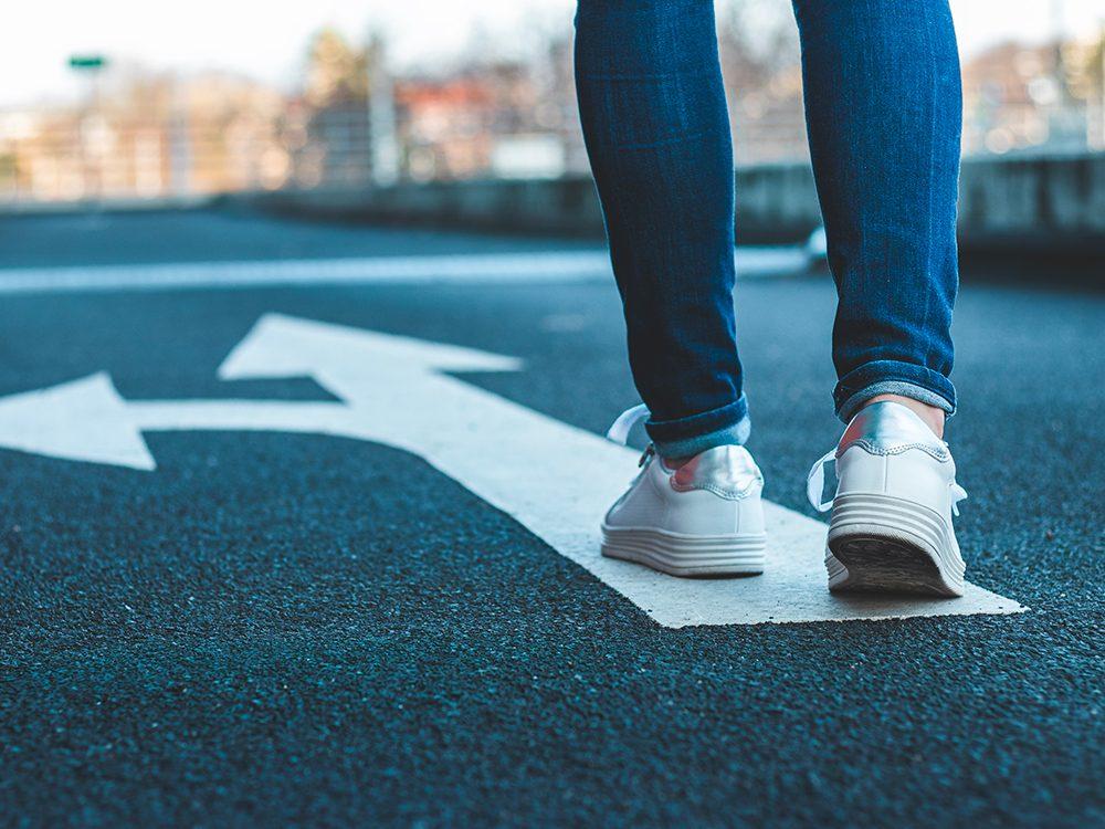 Comment démarrer une routine de marche?