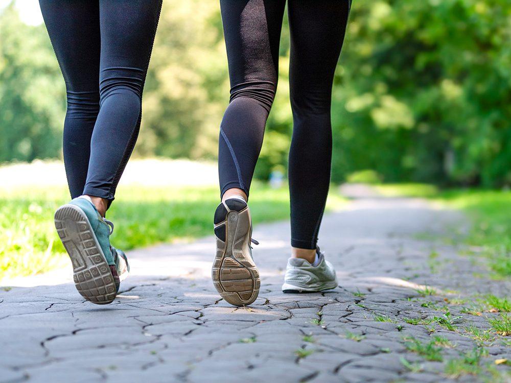 N'hésitez pas à marcher entre amis.