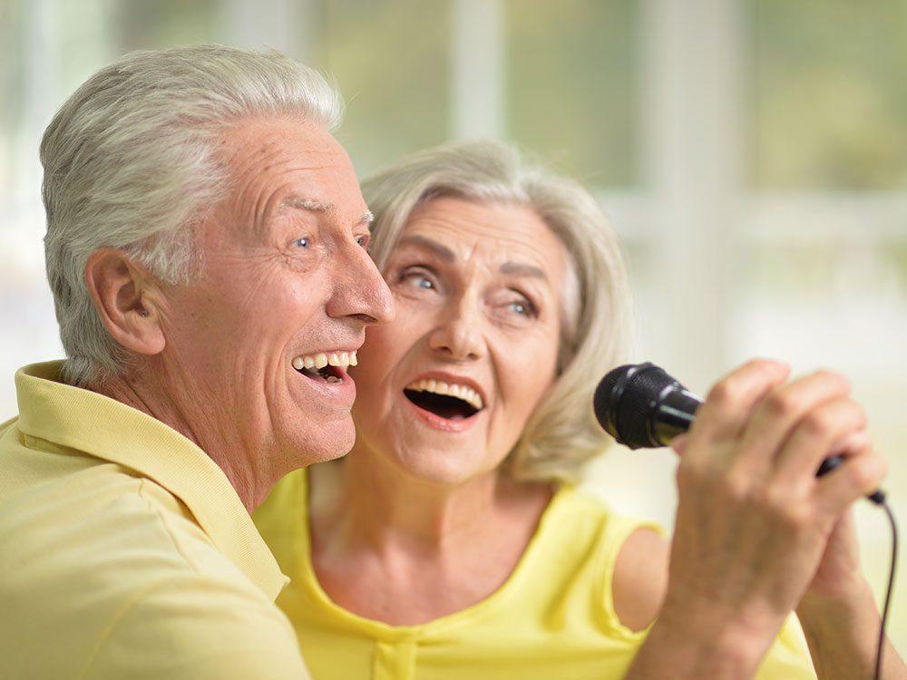 Plus de plaisir avec la musique donc plus d'exercices et plus de résultats.