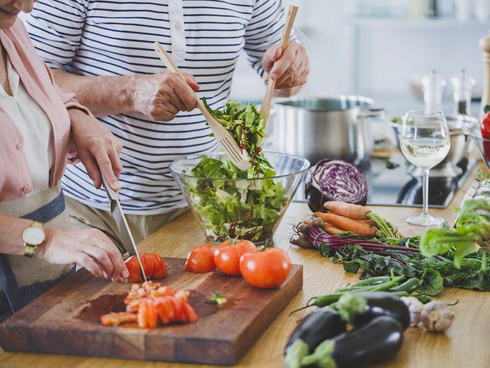 Perte de poids: manger à la maison plus souvent comme en Pologne.