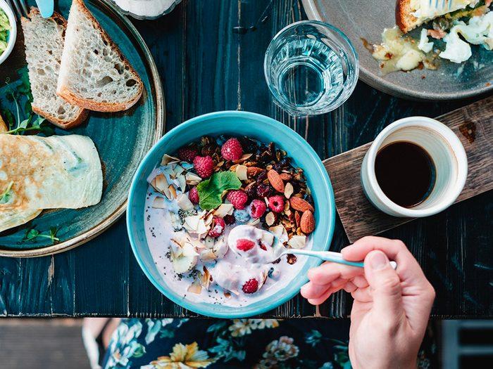 Perte de poids: prenez votre petit-déjeuner, comme en Allemagne.