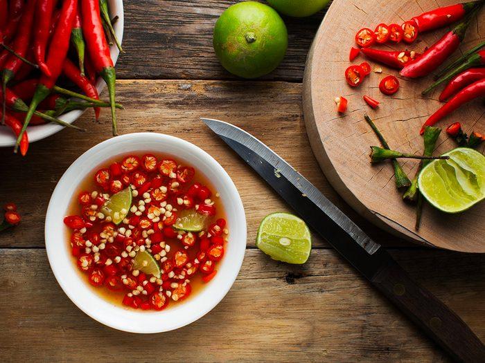 Perte de poids: Thaïlande: pimentez vos plats comme en Thaïlande.