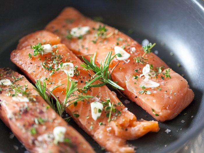 Perte de poids: manger beaucoup de poisson comme en Islande.