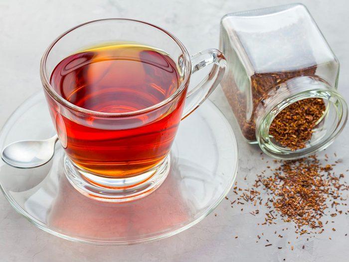 Perte de poids: sirotez du thé rooibos comme en Afrique du Sud.