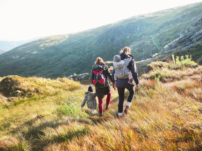 Perte de poids: faites une visite familiale le dimanche comme en Norvège.