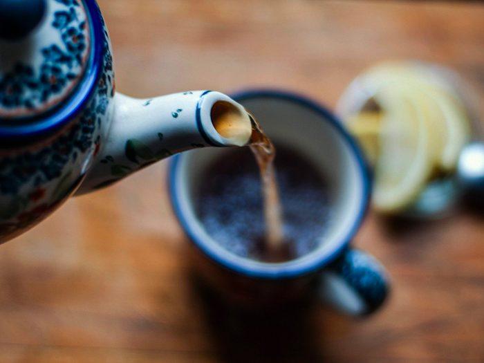 Perte de poids: buvez plus de thé comme en Turquie.