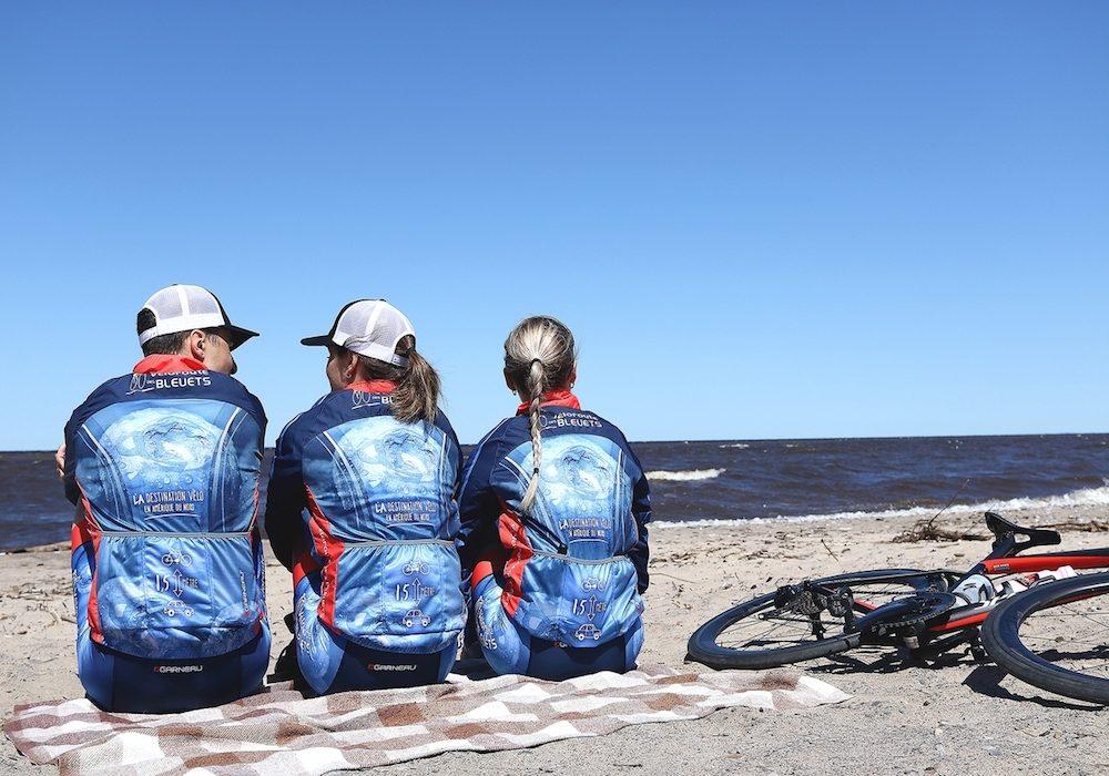 La piste cyclable la Véloroute des bleuets (Saguenay-Lac-Saint-Jean).