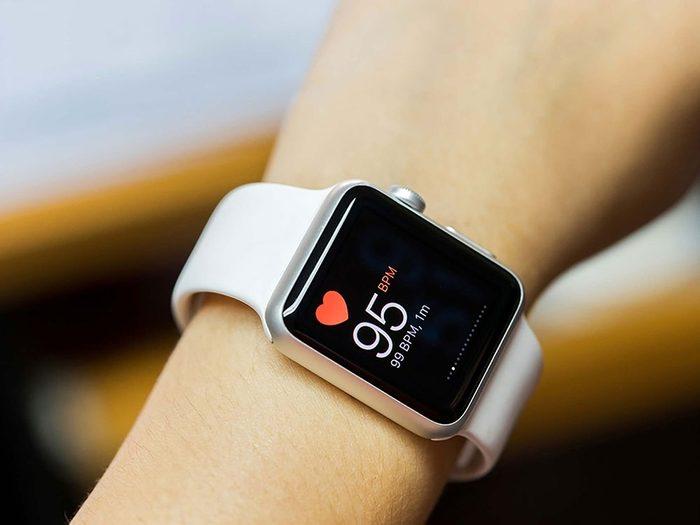 Tenez compte de votre rythme cardiaque au repos pour définir votre poids santé.