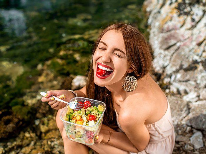 Si vous débordez d'énergie, vous avez probablement un poids santé.