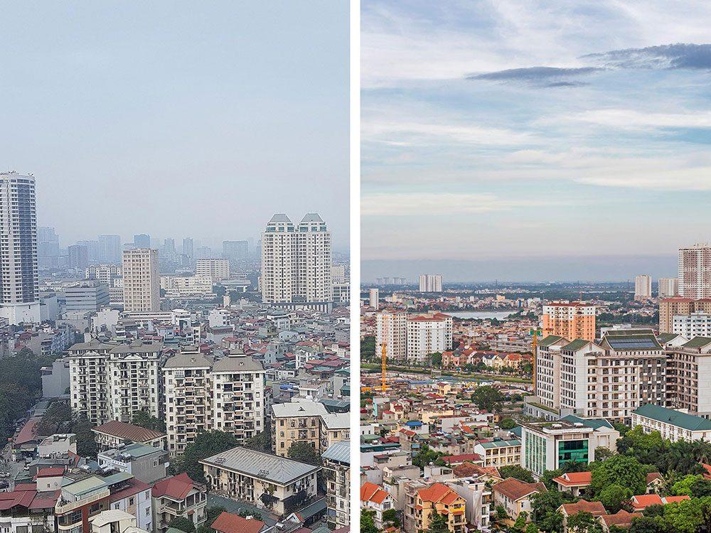 Hanoi, au Vietnam, est l'une des villes les plus polluées.