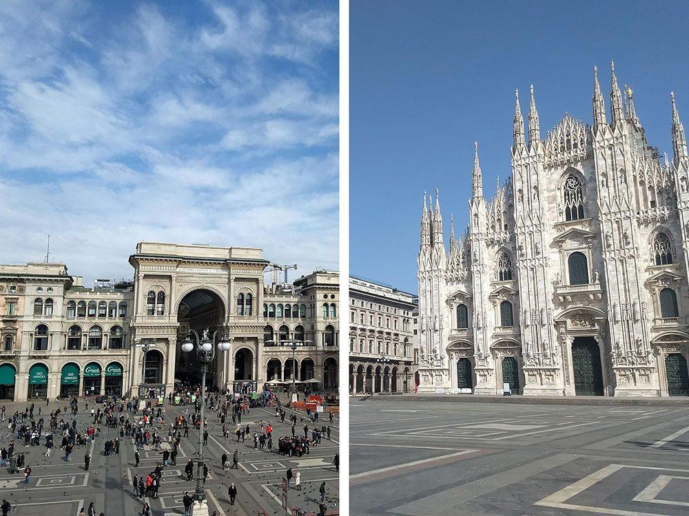 Milan, en Italie, est l'une des villes les plus polluées.