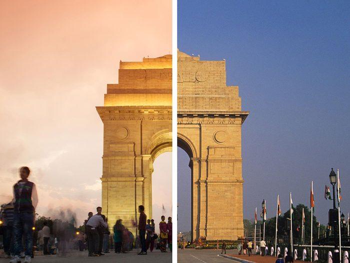 New Delhi, en Inde, est l'une des villes les plus polluées.