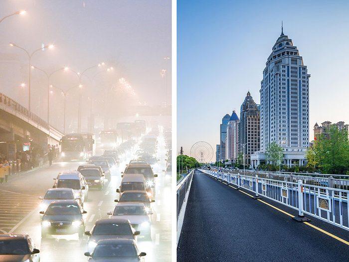 Pékin, en Chine, est l'une des villes les plus polluées.