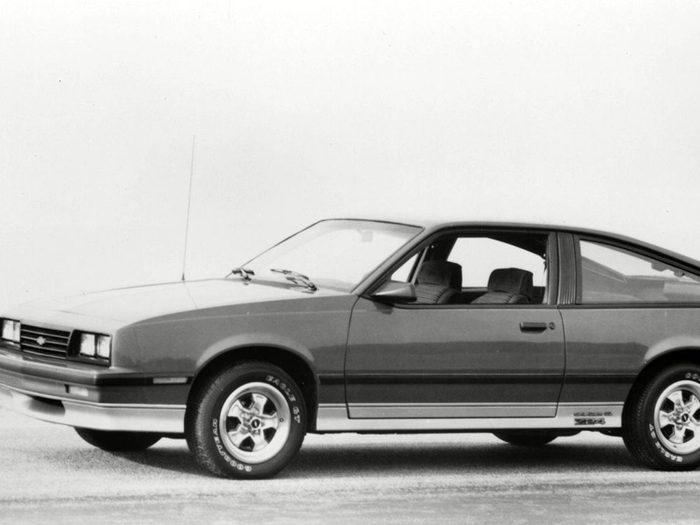 La voiture Chevrolet Cavalier ets sortie entre 1984 à 1985.