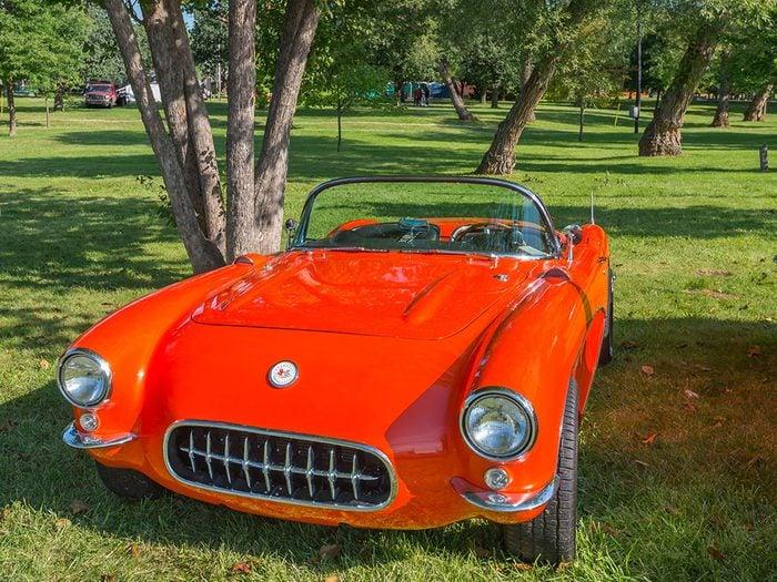 En 1956 la voiture Chevy Corvette sortait.