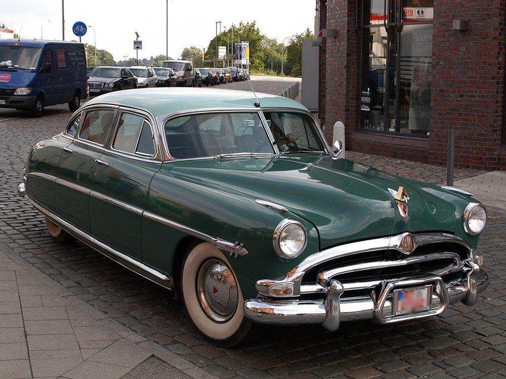 En 1953 la voiture Hudson Hornet sortait.