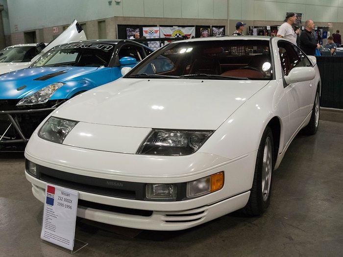 La voiture Nissan 300ZX de 1990.