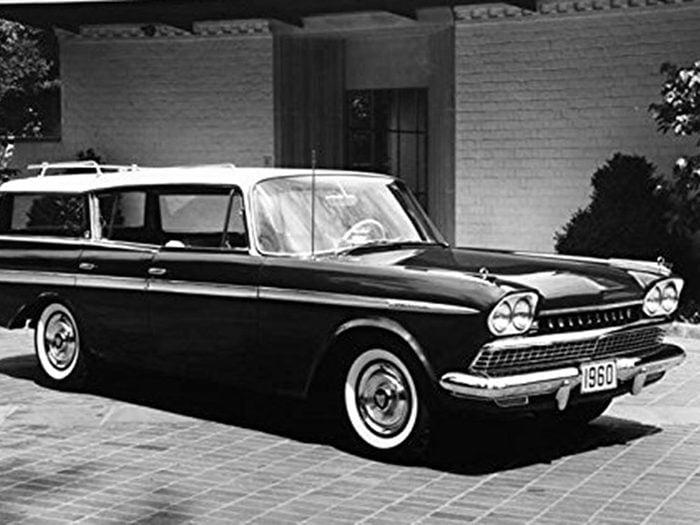 La voiture Ambassadeur Rambler de 1960.