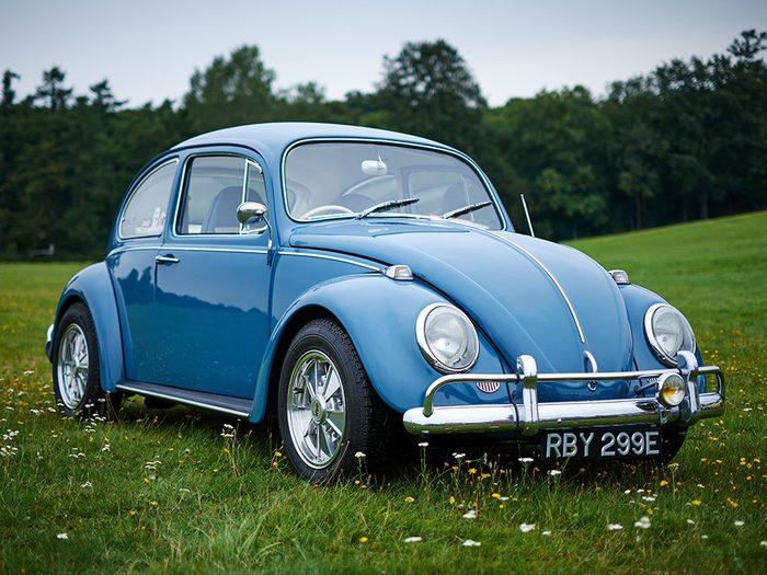 La voiture VW Beetle de 1972.