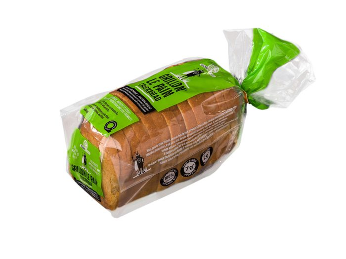 Crickbread: le pain à base de farine de grillon.