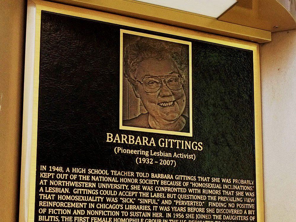 Barbara Gittings fait partie des héros de la communauté LGBTQ+.