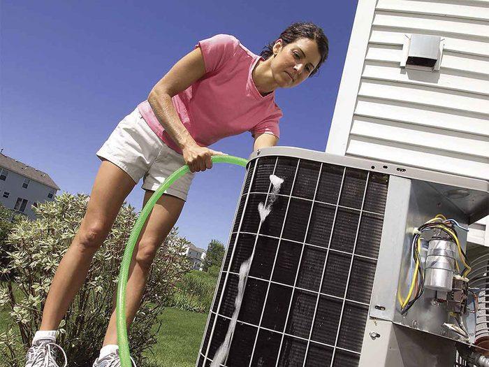 Votre appareil d'air climatisé n'a pas besoin de préparation avant l'été.