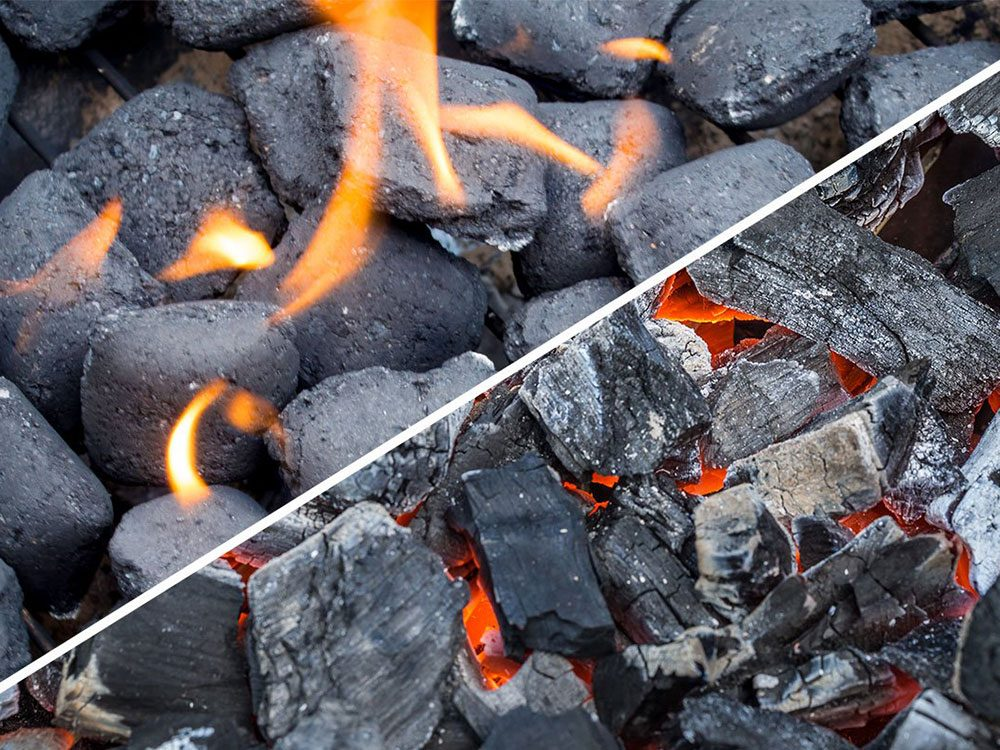 Barbecue au charbon de bois… ou aux copeaux de bois?