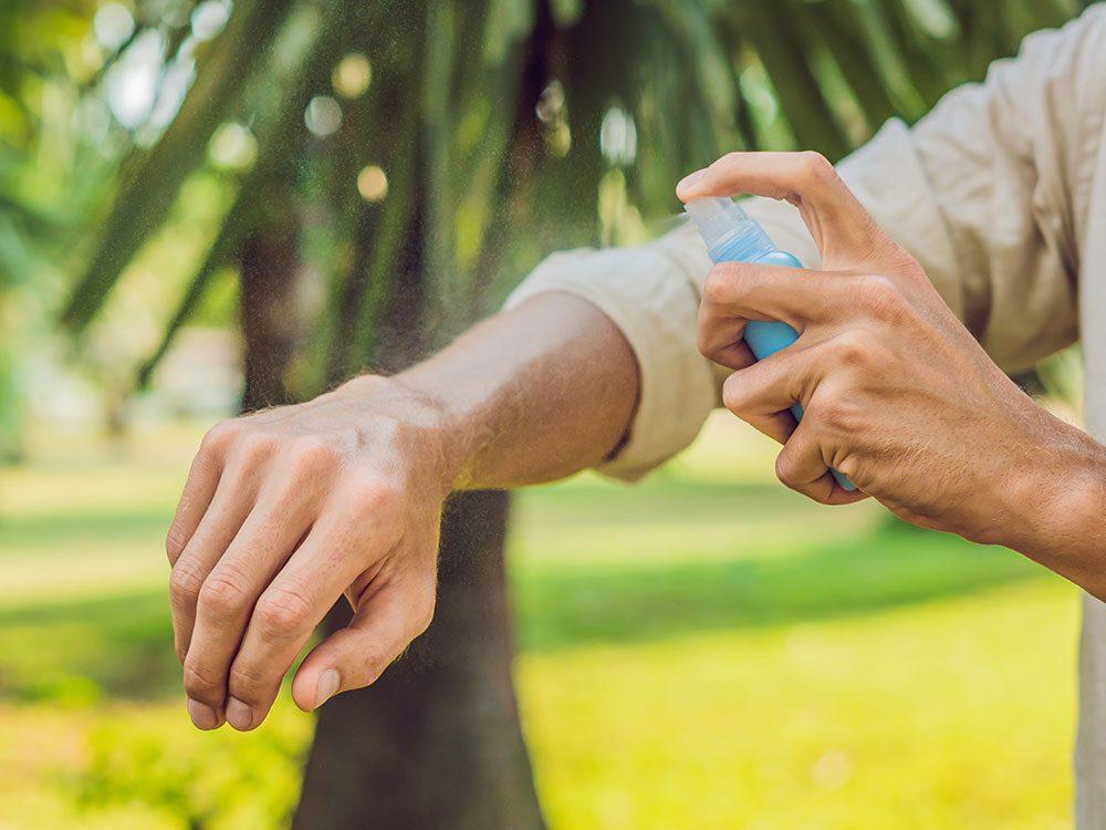 Chasse-moustiques: quelques ingrédients insectifuges.