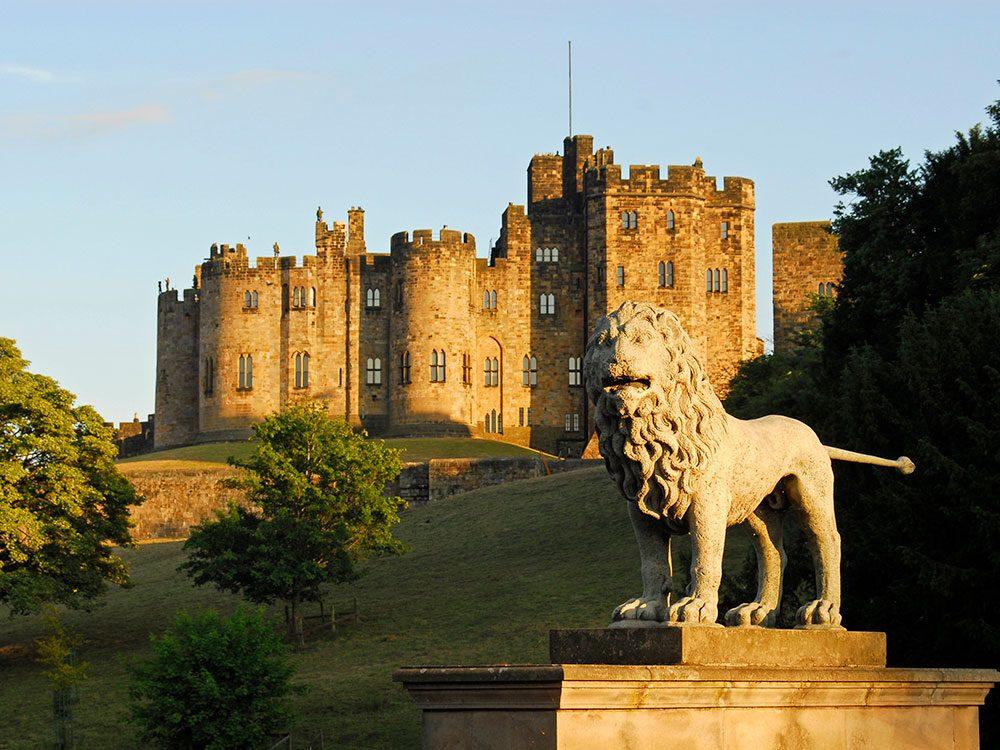 Château d'Alnwick, Angleterre.