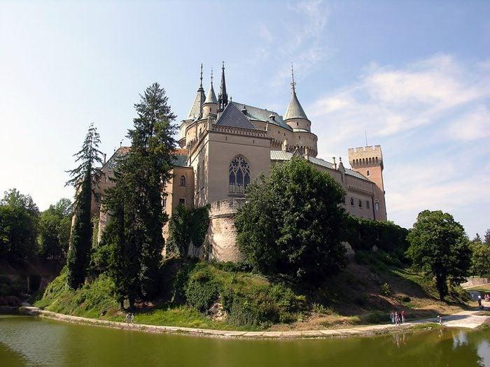 Château de Bojnice, Slovaquie.