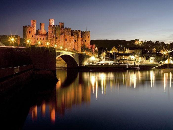 Château de Conwy, Pays de Galles.