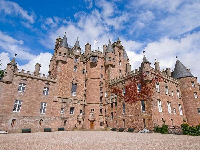 Château de Glamis, Écosse.