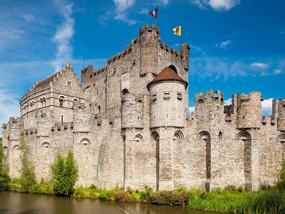 Château de Gravensteen, Belgique.