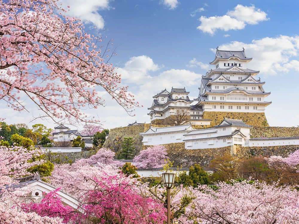 Château de Himeji, Japon.