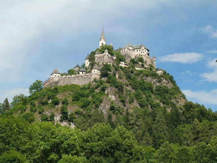 Château de Hochosterwitz, Autriche.
