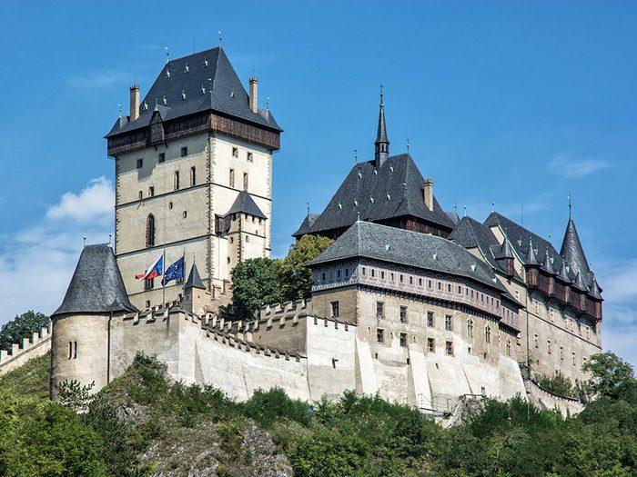 Château de Karlstejn, République tchèque.
