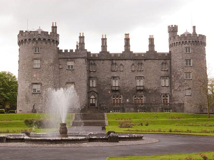 Château de Kilkenny, Irlande.