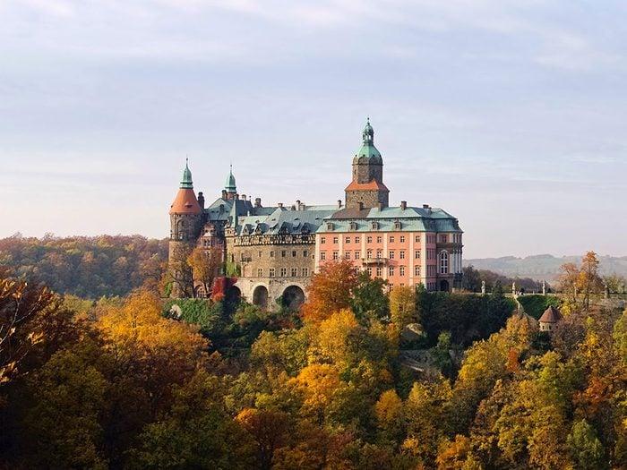 Château de Ksiaz, Pologne.