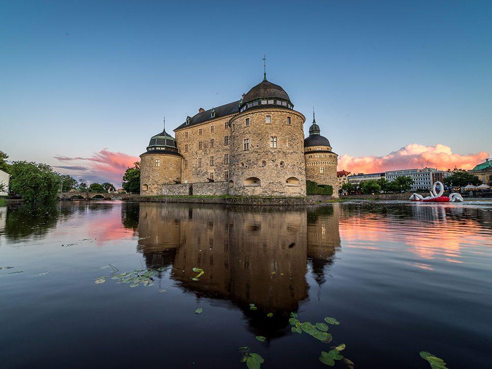 Château d'Örebro, Suède.