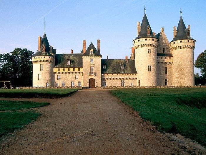 Château de Sully-sur-Loire, France.