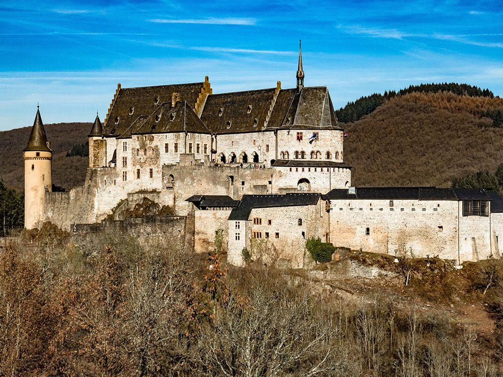Château de Vianden, Luxembourg.