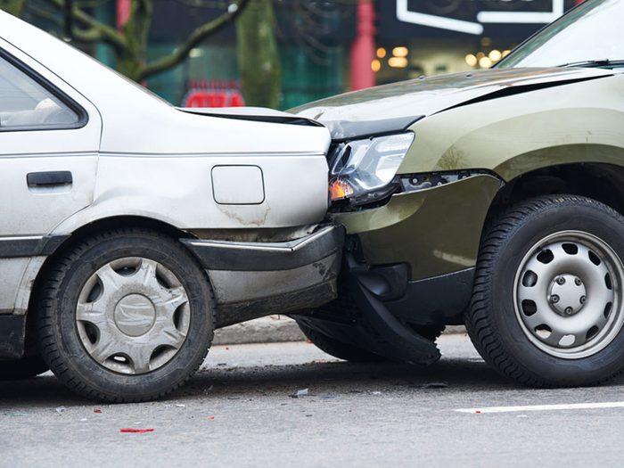 Les accidents de circulation font partie des dangers de l'été à surveiller.