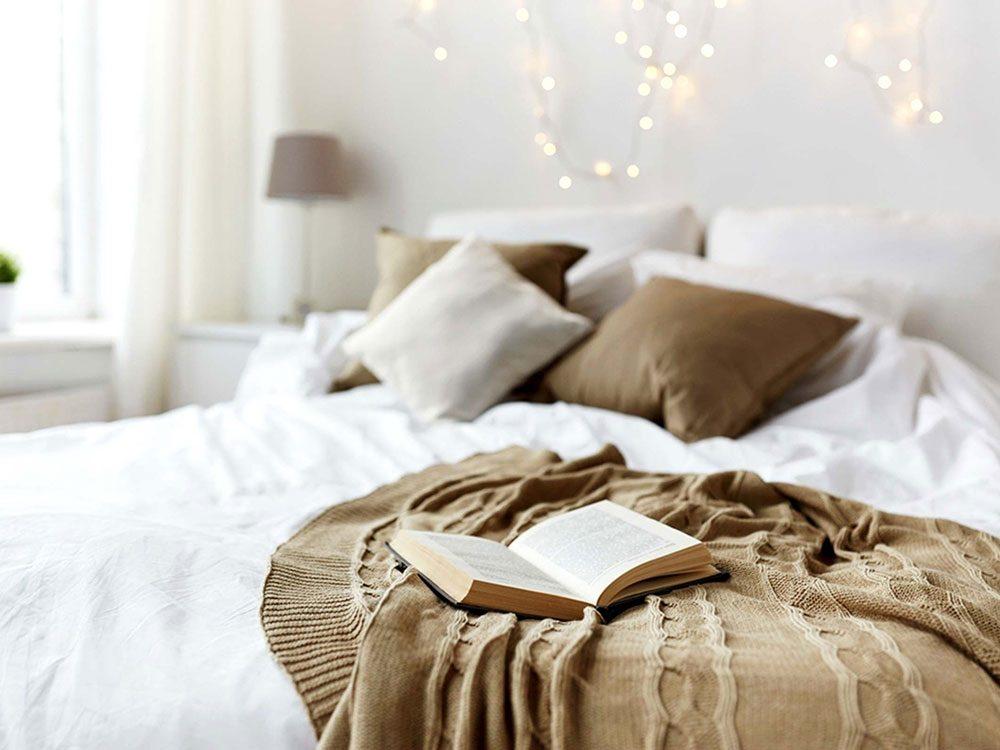 Dépression saisonnière: le manque de sommeil régulier.