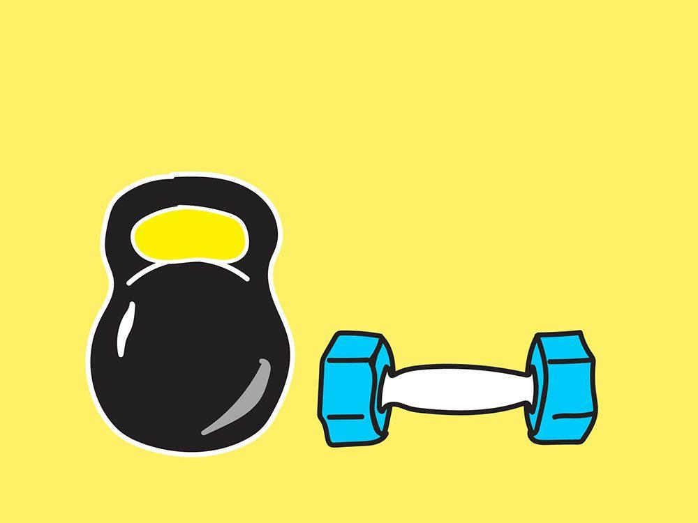 Un amour (ou une haine) pour le gym est génétique.