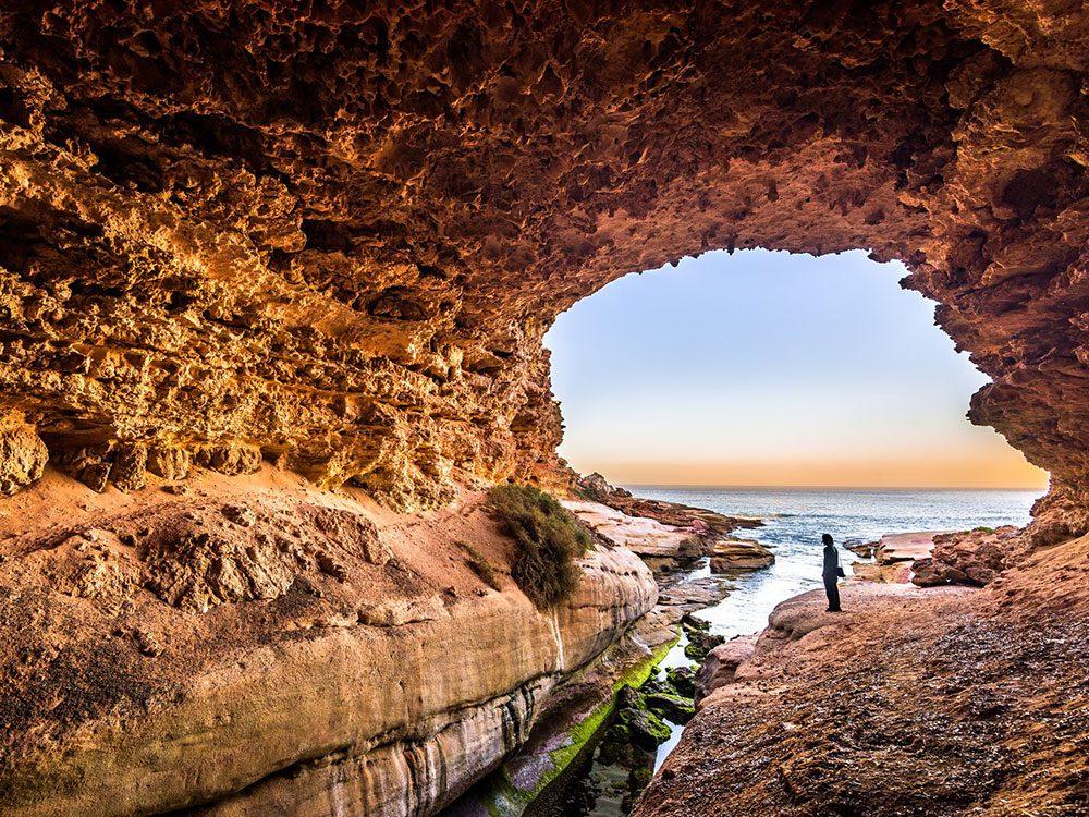 La grotte du Woolshed.